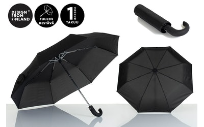 Lasessor Pisara sateenvarjo koukku musta