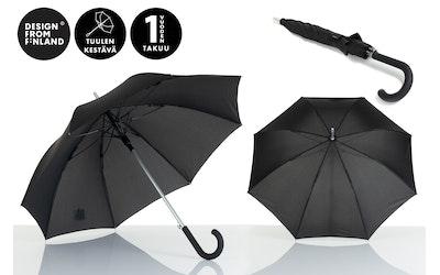 Lasessor Pisara sateenvarjo musta