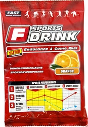 FAST Sports Drink urheilujuomajauhe appelsiini 45g