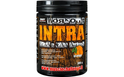 FAST Workout Intra aminohappojuomajauhe 300g appelsiini