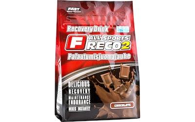 FAST Sports Reco2 900 g suklaanmakuinen palautumisjuomajauhe