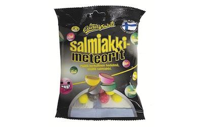 Candywell Salmiakkimeteorit 130g makeissekoitus