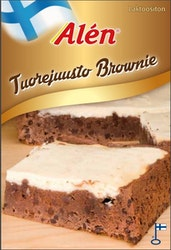 Alen tuorejuusto brownie 500g
