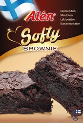 Alen softy brownie 500g gluteeniton