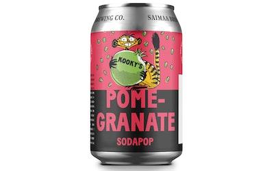 Kookys Sodapop Pomegranete 0,33l - kuva