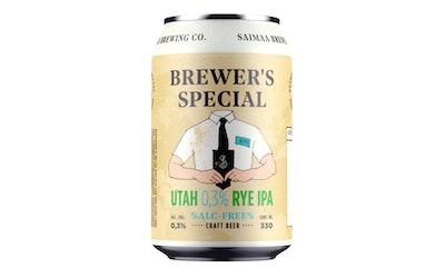 Brewers Special Utah Rye IPA 0,3% 0,33l