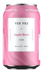 Yes Yes Rose Apple Cider 4,7% 0,33l
