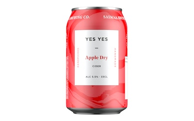 Yes Yes Dry Apple Cider 5,5% 0,33l