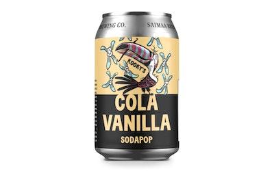 Kookys Sodapop Cola Vanilla 0,33l - kuva