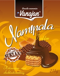 Vanajan Nam!pala Toffee Suklaavohvelipala 215 g