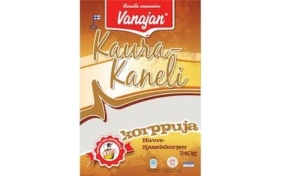 Vanajan Kaura-Kanelikorppu 340 g