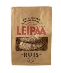 Leivon Leipää RUIS 230g, 3 kpl täysjyväruispalaleipä