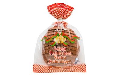 Leivon Perinteinen Vaalea Joululimppu viipaloitu 550g