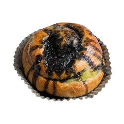 Leivon Lakritsi-sitruunakierrepulla 75g, täytepulla