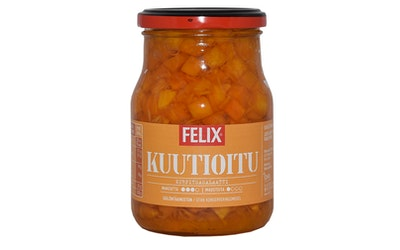Felix kurpitsasalaatti, kurpitsakuutioita mausteliemessä 380g/250g