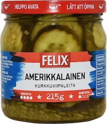 Felix Amerikkalainen kurkkuviipale 410g/215g