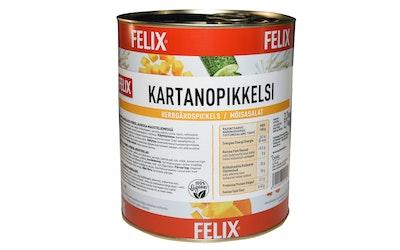 Felix kartanopikkelsi kurpitsasuikaleita mausteliemessä 3,2kg/2,1kg