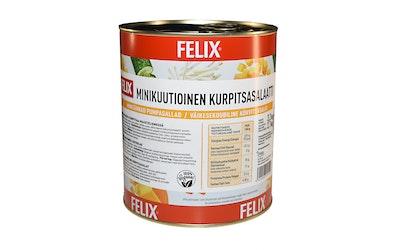 Felix minikuutioinen kurpitsasalaatti 3,2kg/2,1kg