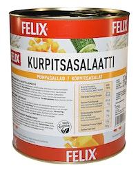 Felix kurpitsasalaatti kuutioita mausteliemessä 3,2kg/2,1kg