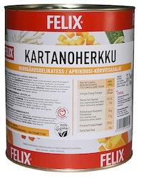 Felix kartanoherkku aprikoosi-kurpitsasalaatti etikaton 3,2kg/2,1kg