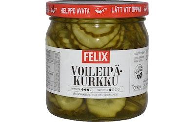 Felix ohut koruviipale voileipäkurkku 210 g