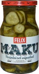 Felix Maku viipaloituja kurkkuja mausteliemessä 840g/480g