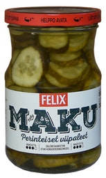 Felix Maku viipaloituja kurkkuja mausteliemessä 560/300g