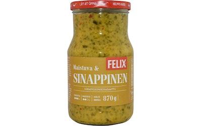 Felix sinappikurkkusalaatti 870g