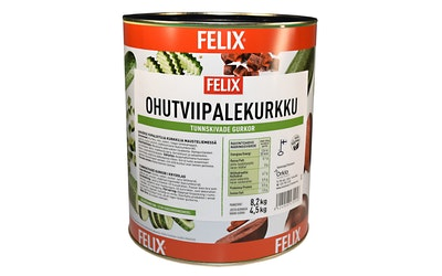 Felix ohutviipalekurkku 8,2kg/4,5kg