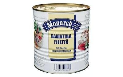 Monarch ravintolafileitä silli 850g