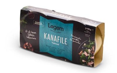 Lagom kanafile vedessä 2x90g/2x56g