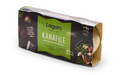Lagom kanafile auringonkukkaöljyssä 2x90g/2x58g