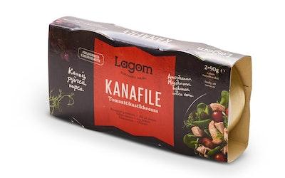Lagom kanafile tomaattikastikkeessa 2x90g/2x56g