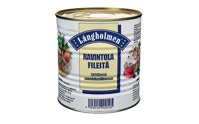 Långholmen ravintolafileitä, sillifileitä maustekastikkeessa 850/500g