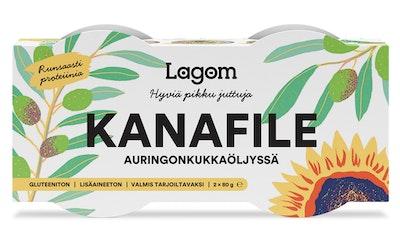 Lagom Kanafile öljyssä 2 x 80 g/42 g