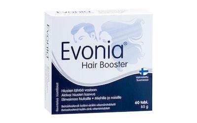 Evonia Hair Booster Betasitosteroli-koliini-sinkki-vitamiinitabletti 60 tabl 60g