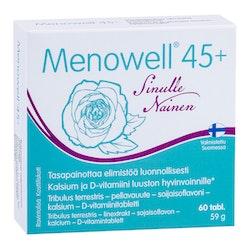 Menowell 45 Tribulus terrestris-pellavauute-soijaisoflavonitabletti 60 tabl 63 g