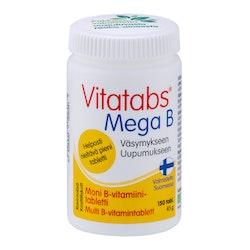 Vitatabs Mega B moni B-vitamiini tabletti 150 tabl 60g