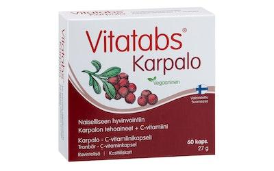 Vitatabs Karpalo 60 tabl karpalo-C-vitamiinikapseli