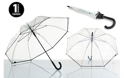 Lasessor Pisara sateenvarjo läpinäkyvä