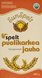Sunspelt speltjauho 500g puolikark luomu