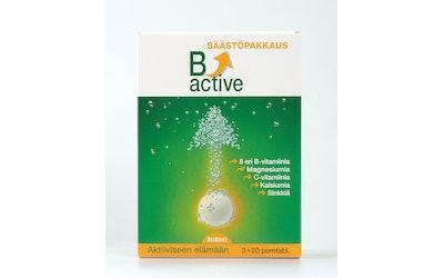B-Active poretabletti 3x20tabl
