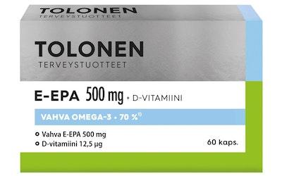 Tri Tolonen E-EPA 500mg 60kpl 58g
