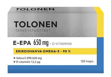 Tri Tolonen E-EPA 650mg 120kaps 117g