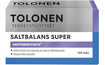 Tri Tolosen SaltBalans 75g 100tabl Super kivennäisaine-yrttiuutetabletti