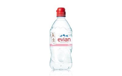 Evian Sport luonnkivennäisvesi 0,75l