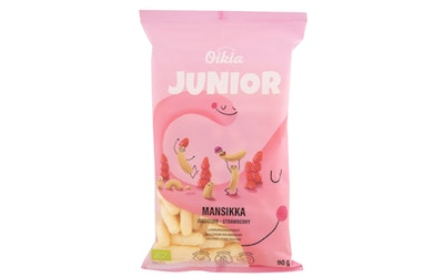 Real Snacks Junior 90g luomu mansikka