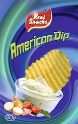 Real Snacks 20g American Dip-jauhe