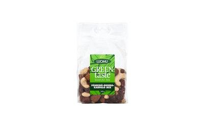 Green Taste Pähkinä-Rusinä-Karpalo Mix 160g Luomu