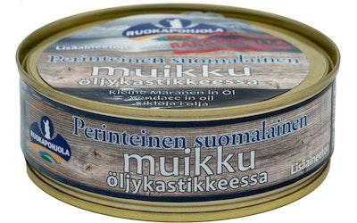 Ruokapohjola Muikku öljykastikkeessa 210/170g perinteinen suomalainen